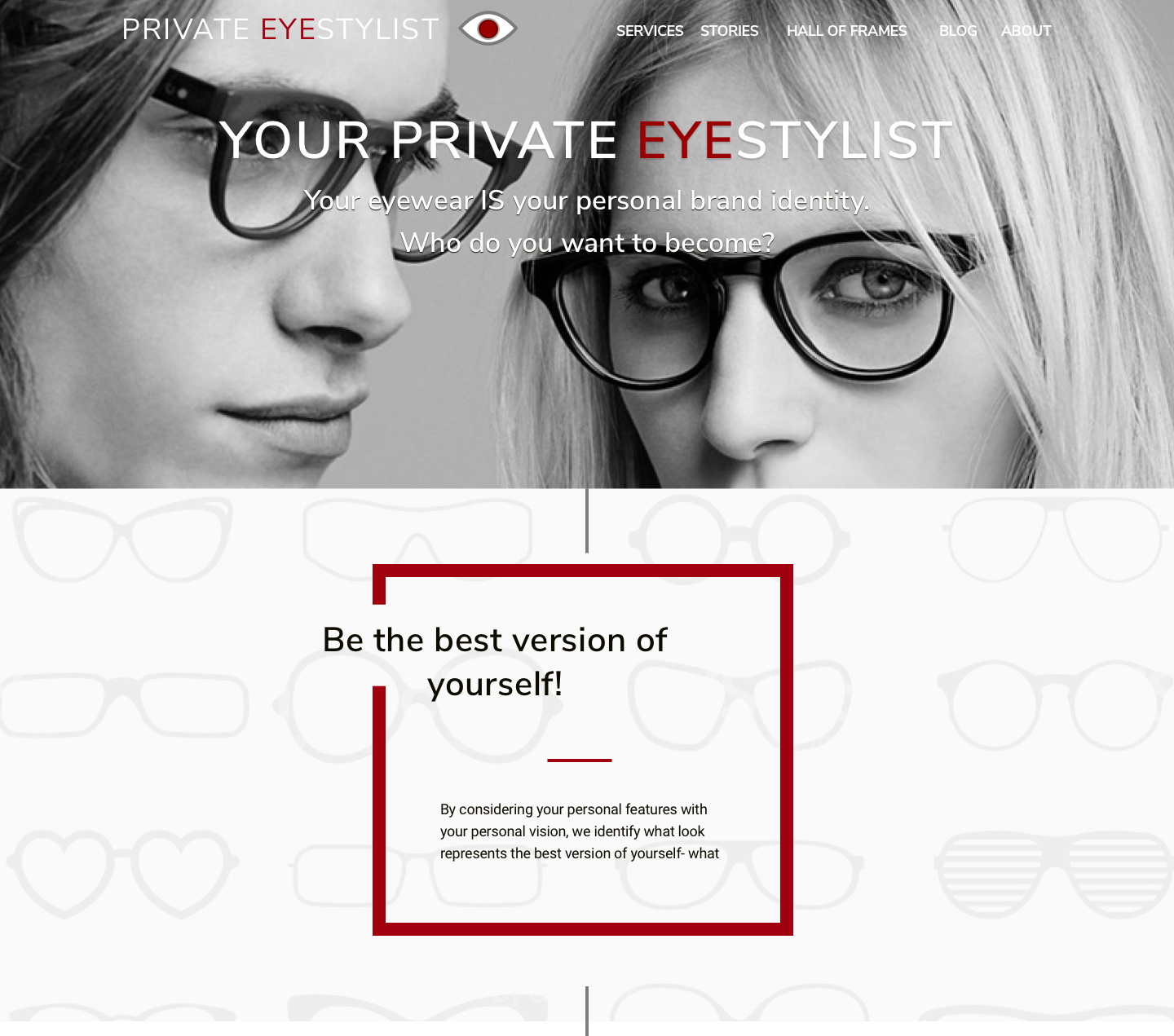Image of the Your Private EyeStylist mockup